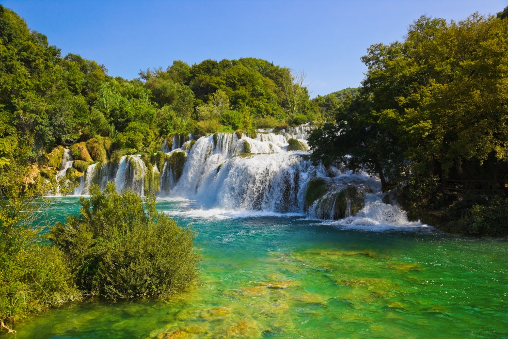 Seven stunning waterfalls of Krka National Park