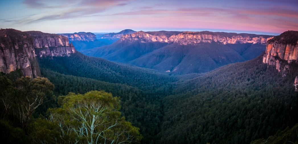 Visiting the Blue Mountains in Australia