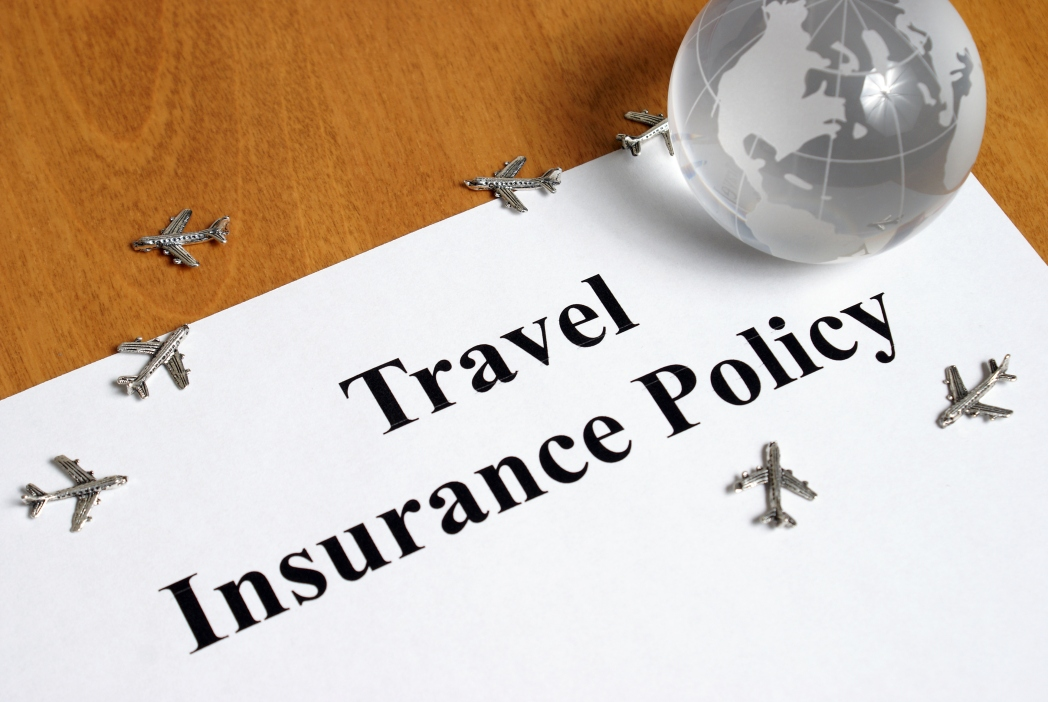 Travel insurance papers