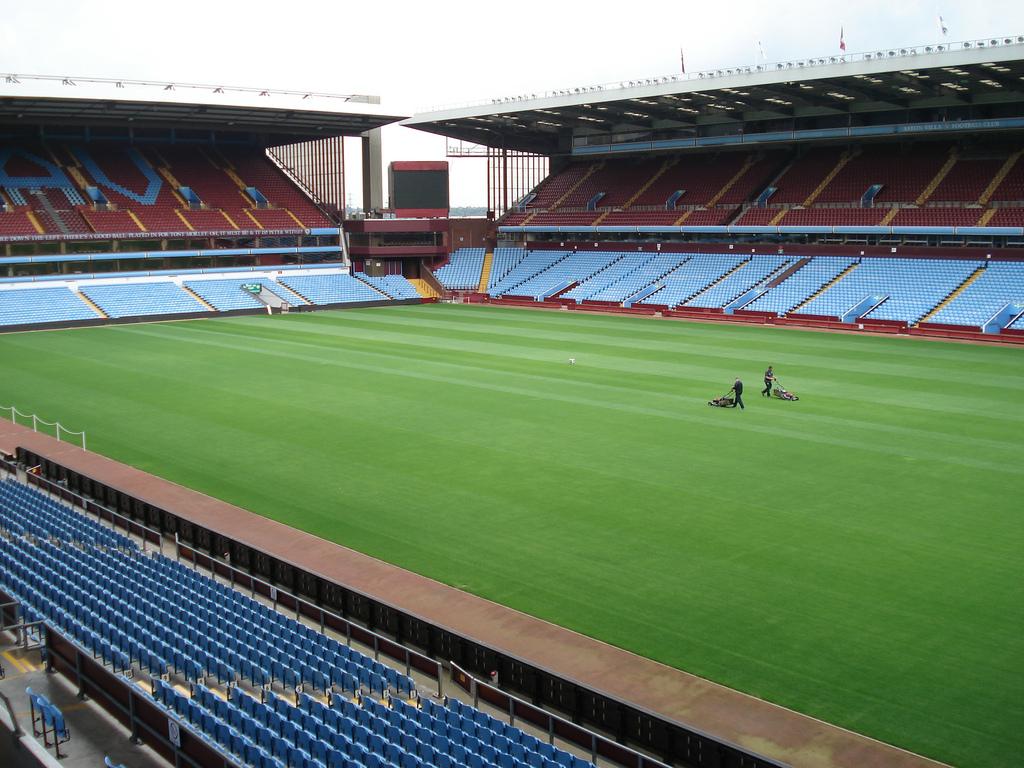 The Villa Park Stadium