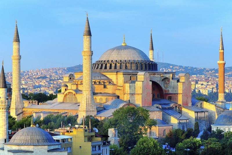 Hagia Sophia full view