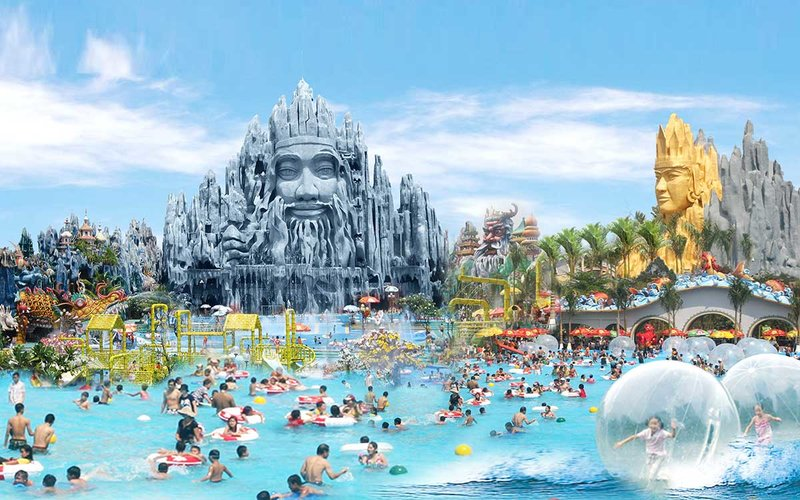 The Suoi Tien Amusement Park. Photo credit: Suoi Tien