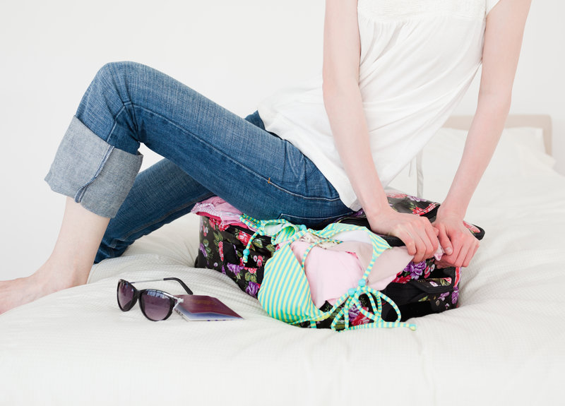You'll be astounded at how much you can manage to fit in your suitcase when you fold and roll