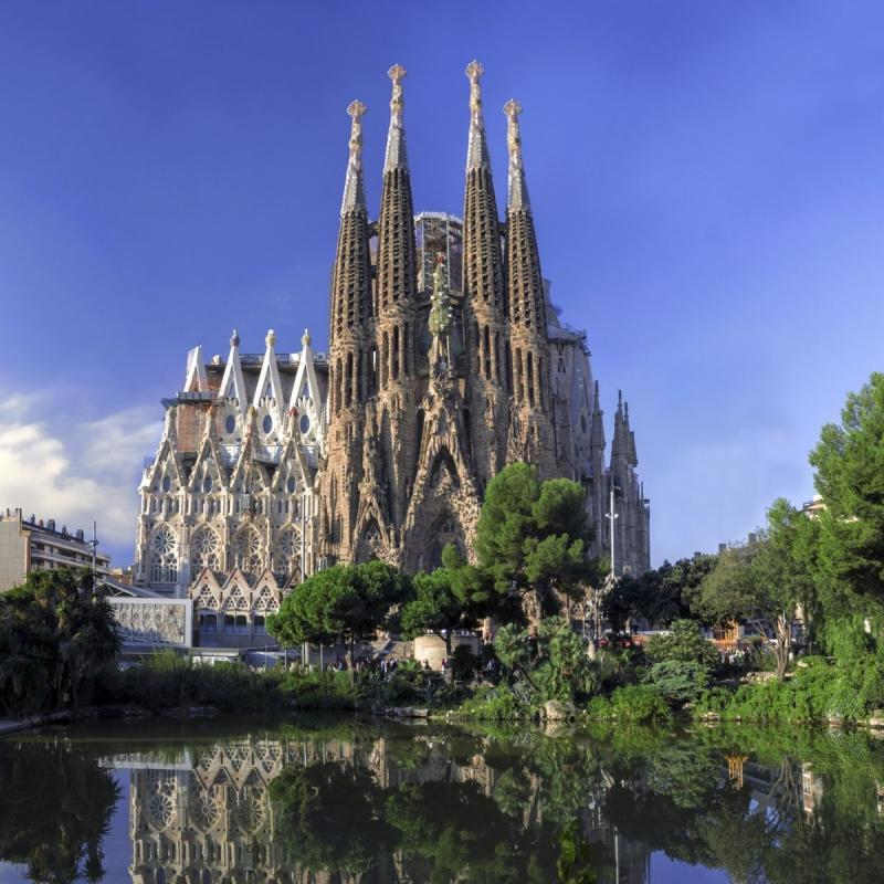 Sagrada Família full view