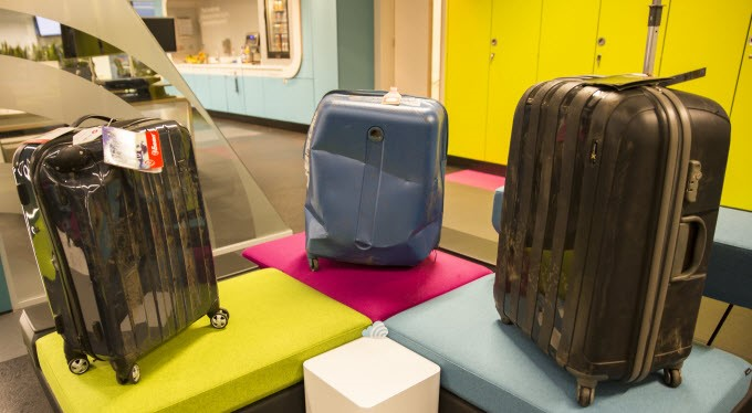 image of the 3 surviving luggage